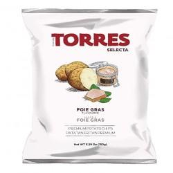 Chips au foie gras