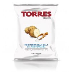 Chips au sel méditerranéen