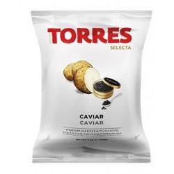Chips au caviar
