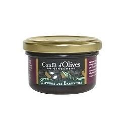 Confit d'olives noires au...