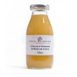 Coulis ananas noix de coco