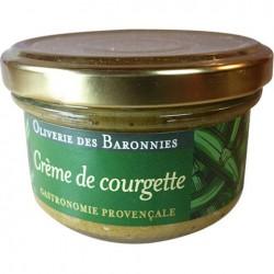 Crème de courgettes aux...