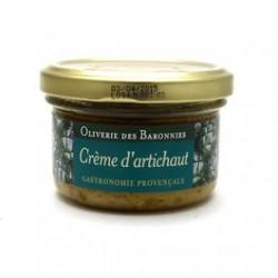 Crème d'artichaut aux...