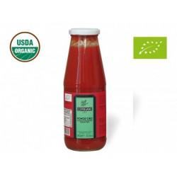 Jus de tomate bio, bouteille
