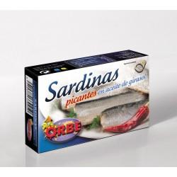 Sardines à l'huile végétale...