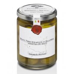 Olives vertes Nocellara, au...