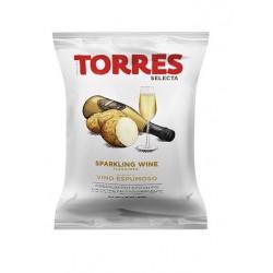 Chips au vin pétillant