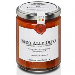 Sauce tomate aux olives...