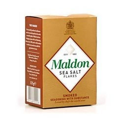 Sel de mer fumé, Sel Maldon...