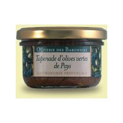 Tapenade d'olives vertes de...
